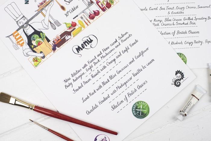 Menu Design – Nomadic Chefs